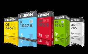 Новая упаковка Filtron